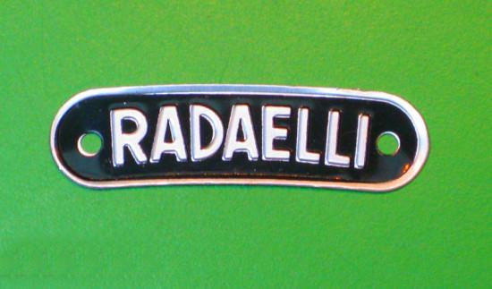 'Radaelli' seat badge