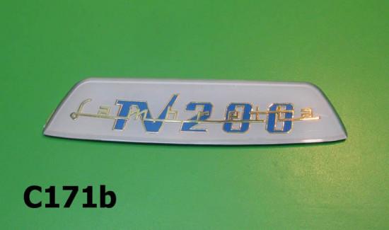 Rear frame badge 'TV200'