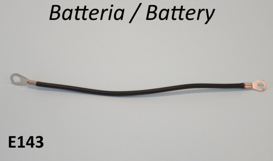Earth wire for battery