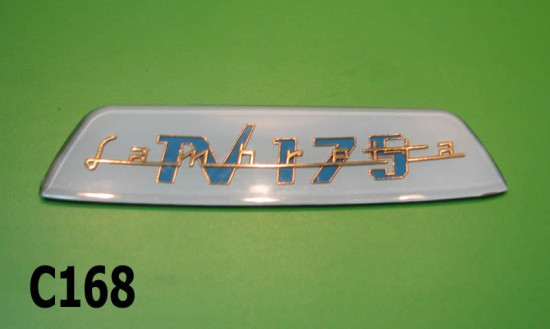 rear frame badge 'TV175' (white) S3
