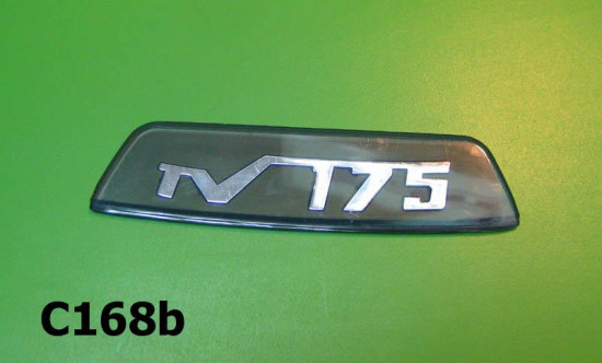 Rear frame badge 'TV175' (blue)