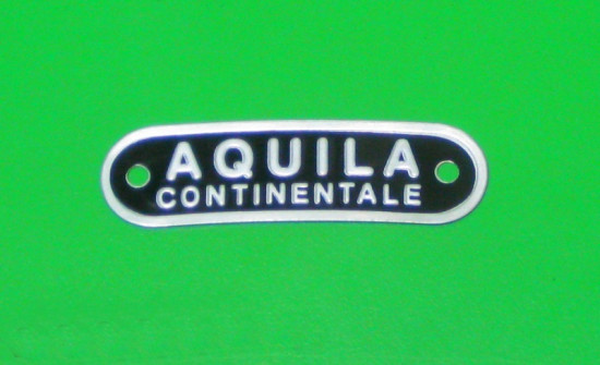 'Aquila Continentale' seat badge