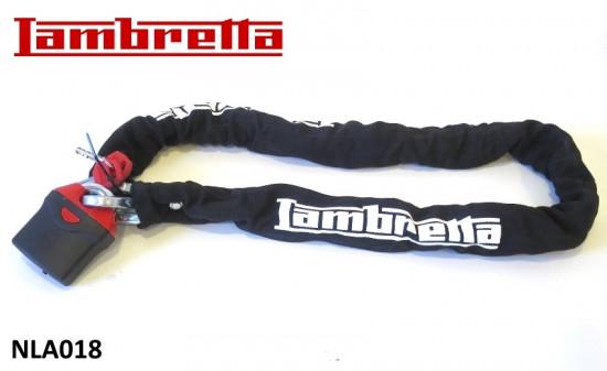 High quality steel chain + lock for Lambretta V-Special (+ and all classic Lambretta models)