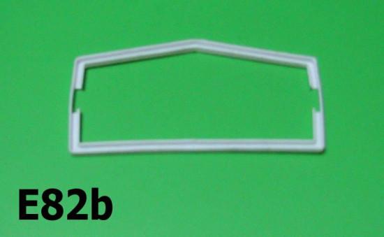 Rear light lense gasket