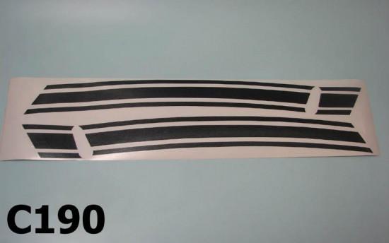 Kit adesivi per cofani laterali Lambretta DL 125, 150, 200