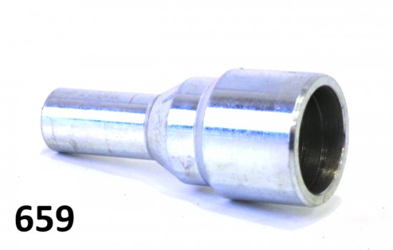 Metal cap for choke lever Lambretta S1 + S2 + TV2 + S3 + Special + TV3 + SX + GP + Serveta