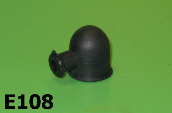 Horn wire rubber protection cap