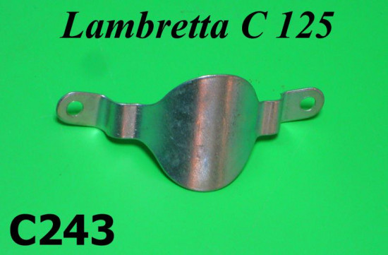 Front legshield fixing bracket / badge mounting Lambretta C125