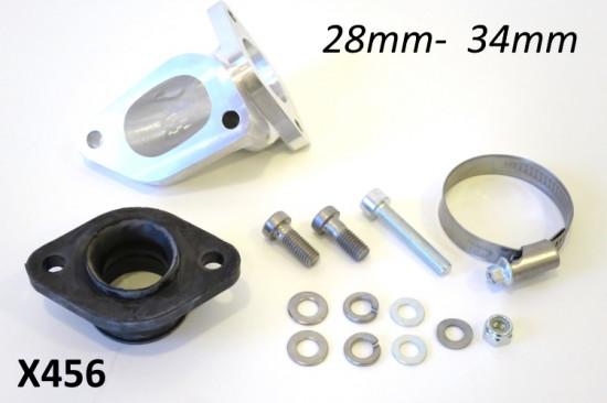 Kit collettore aspirazione BGM per carburatori 28-34mm. Per cilindri 200 & 225cc