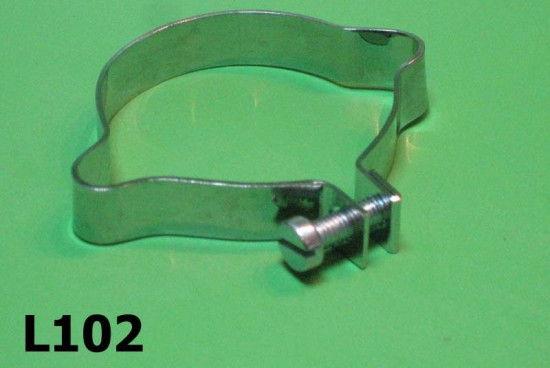 Steering column outer cables clamp