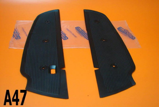 Black rubber mats Lambretta Lui + Vega + Cometa