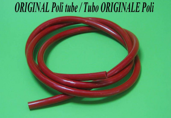 ORIGINAL Poli Horns red tube (1 metre)