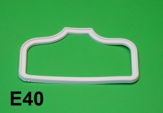 White rear light gasket