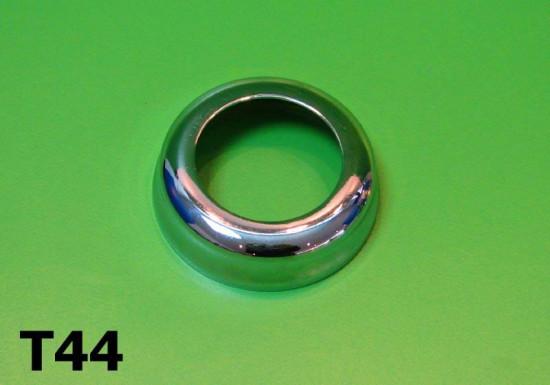 Lower steering bearing race chrome cover
