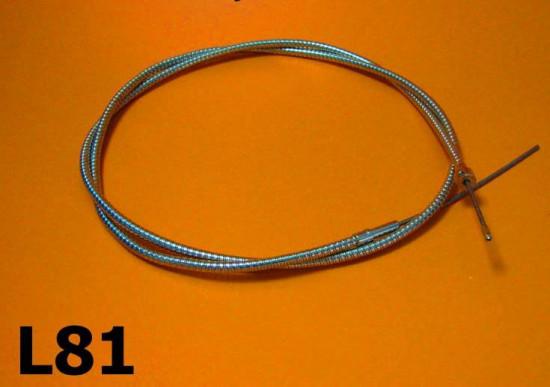 Teleflex control cable (complete) Lambretta D125 LD125 (Vers.2+3)