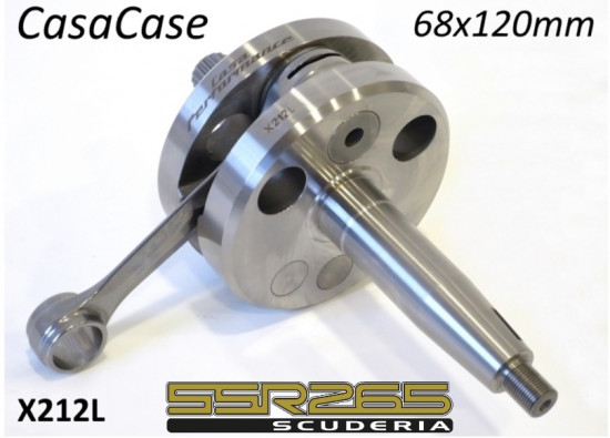 High quality 68mm x 120mm crankshaft for CasaCase engine casing (+ SSR265 Scuderia)