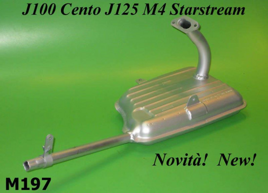 Innocenti exhaust Cento J125 M3 M4 Starstream