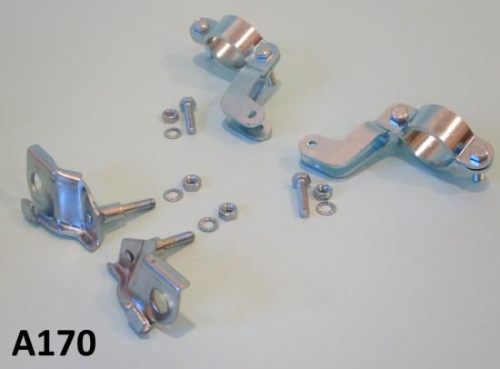 Kit di montaggio ammortizzatori supplementari anteriori Lambretta