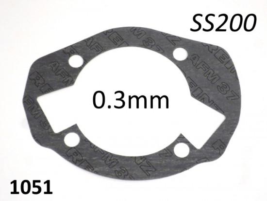 Casa Performance SS200 0.3mm cylinder base gasket