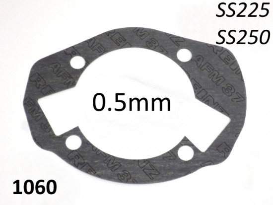 Cylinder gasket 0,5mm for Casa Performance SS225 kit