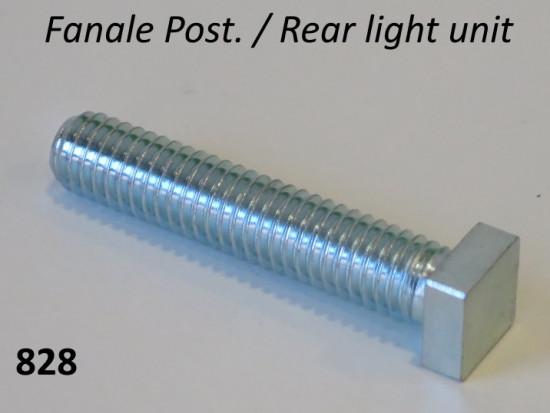 Rear light frame (CEV / Aprilia) square head screw for Lambretta S3