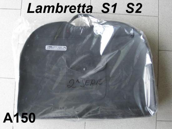 Black 'Casa Lambretta' inside legshield bag (with carrying handle) Lambretta LD S1 S2