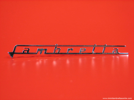 """legshield badge """"Lambretta"""""""