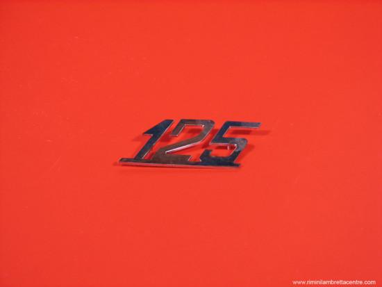 legshield badge '125'