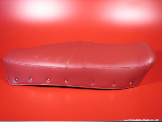 Red seat cover Lambretta SX200