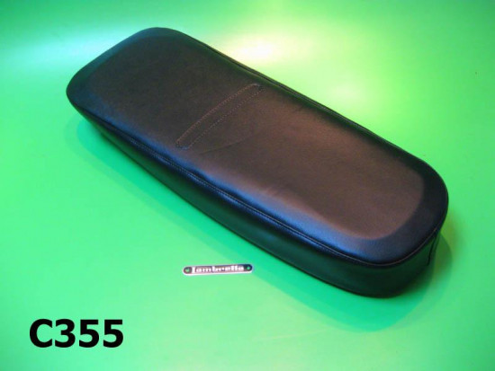 Dual seat cover with sponge