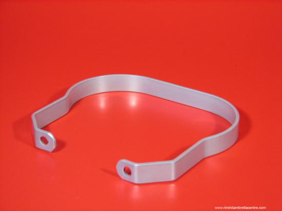 Metal passenger handle (flat plate type) for Lambretta S1