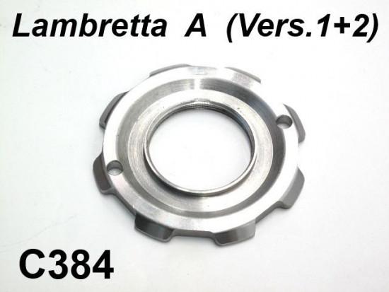 Petrol tank fixing ring nut Lambretta A Vers.1 + 2