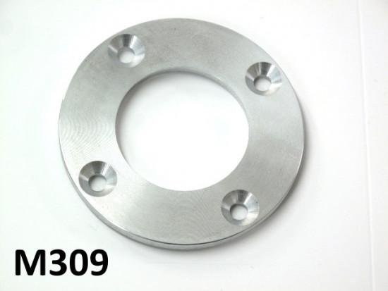 Aluminium drive side oilseal plate for crankshaft