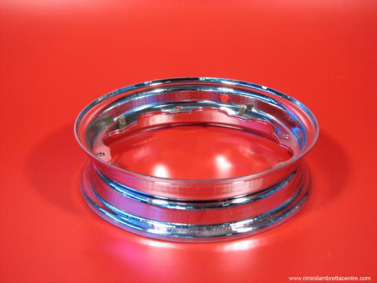 Chromed wheel rims