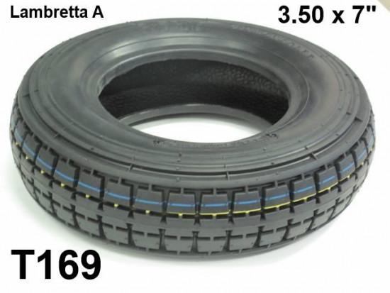 "3.50 x 7"" inch tyre"