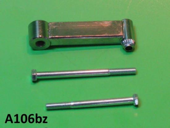 Rear view mirror support bracket (8mm threaded hole) Lambretta S1 S2 S3 GP DL Serveta