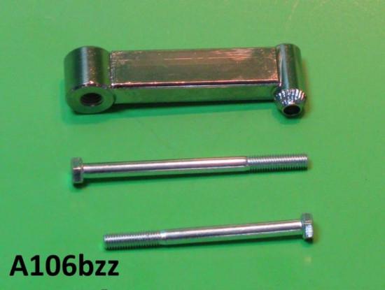 Rear view mirror support bracket (10mm thread verison) Lambretta S1 S2 S3 GP DL Serveta