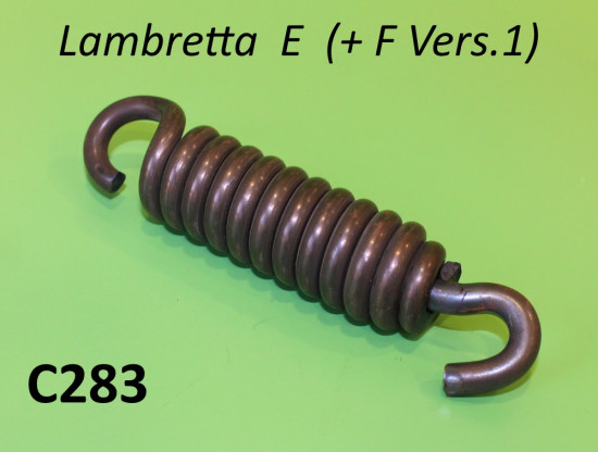 Large seat spring with hooks Lambretta E (+ F Vers.1)