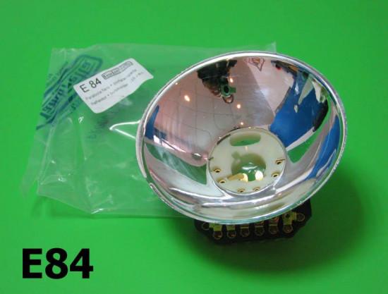J125 M4 Headlamp reflector with bulb holder
