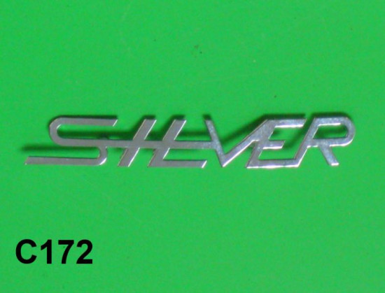 legshield badge 'Silver'