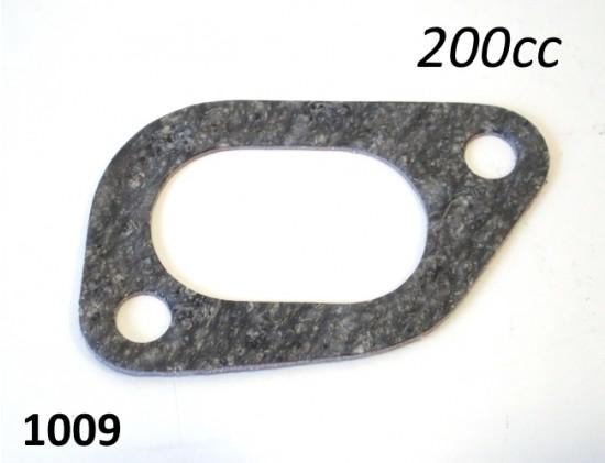 Intake manifold gasket for Lambretta SX 200 + DL 200
