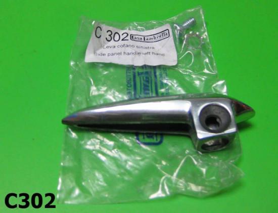 Sidepanel handle left hand (flywheel) side (screw fixing type)