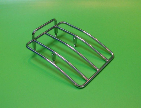"Chromed rear rack Lambretta S1 + S2 - ""Small Type"""