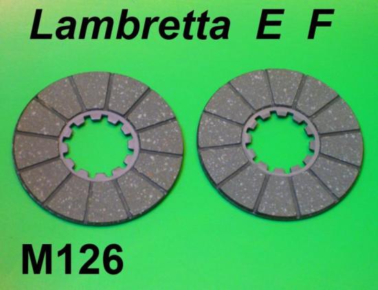 Surflex clutch plates Lambretta E + F