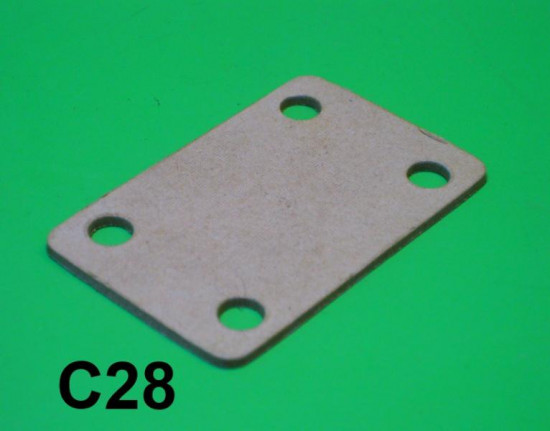 Gasket for rear spare wheel mounting bracket / accessory