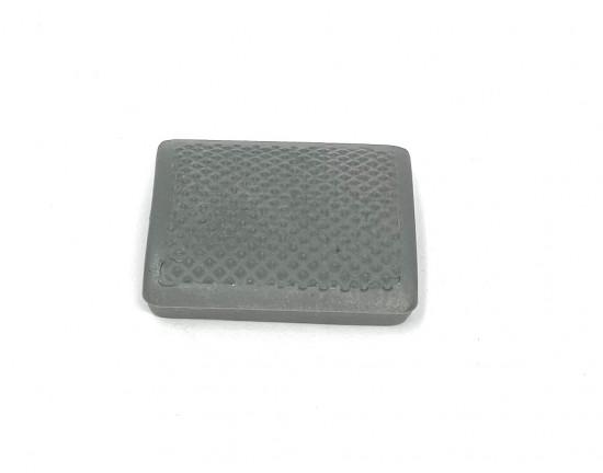 Rear brake pedal rubber