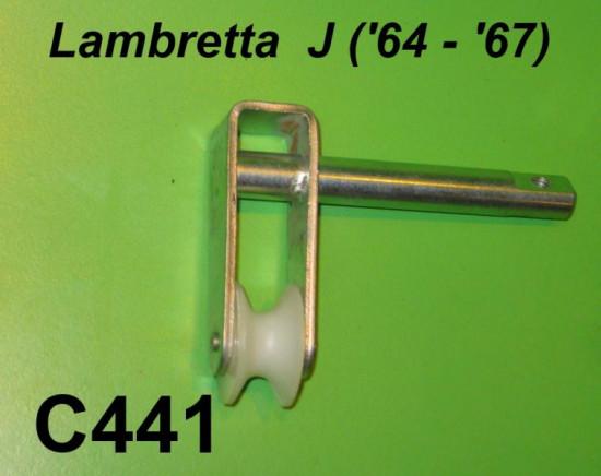 Right hand sidepanel mechanism (roller type) Lambretta J '64 - '67