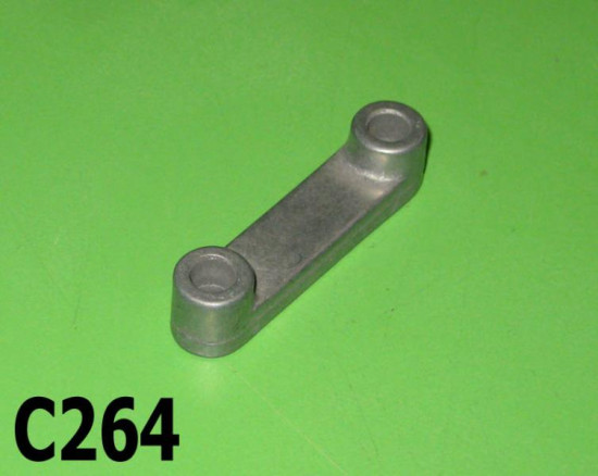 Upper number plate aluminium spacer