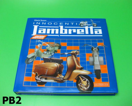'Innocenti Lambretta' book by Vittorio Tessera (Italian Version)