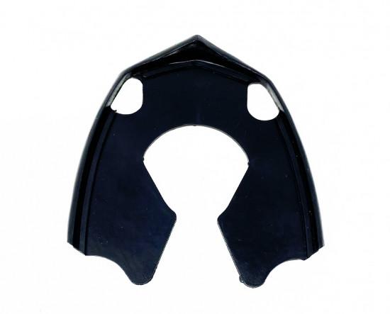 Black horncasting - mudguard rubber